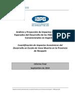 Análisis y Proyección de Impactos Económicos