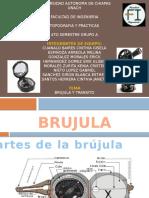Brujula y Transito