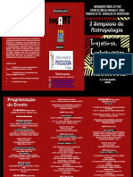 Simpósio de Antropologia UFPI.2016