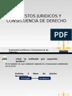 Supuestos Juridicos y Consecuencia de Derecho