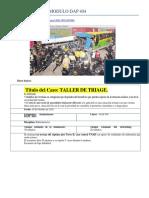 Taller de Triage 2015 Detalles