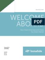 New Client Interview
