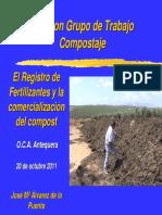 Registro de Fertilizantes y Comercializacion de Compost
