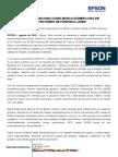 EPSON SE POSICIONA COMO MARCA NÚMERO UNO EN PROYECTORES DE FÓSFORO LÁSER