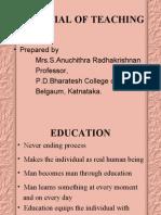 Essential of Teaching Unit Vi 1,2,3