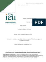 Cuadro PNI de Los Diferentes Paradigmas en Investigación Educativa