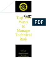 Top Eleven Ways to Manage Technical Risk