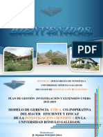Plan de Gestion Deinvex 2015 2019