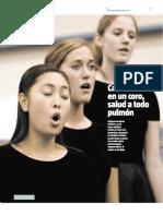Cantar en un coro (5)