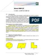 INVESTIGACION OPERATIVA -Lectura 2 -Programación Lineal - Metodo SImplex - Modificado (Para 2A-2013)
