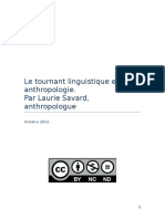 Le tournant linguistique en anthropologie