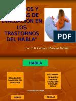 _METODOS-Tecnicas de Ev. Del Habla