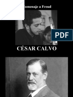 César Calvo - Homenaje a Freud - poesía