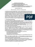 Edital Nº 01 de 11.07.2016 - Abertura - Investigador,Escrivao e Papilosocpista - Pc - Doe Nº 33.167 de 12.07.2016