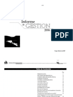 Informe de Gestion-2006