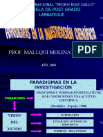 PARADIGMAS DE LA INVESTIGACIÓN CIENTÍFICA 1.ppt
