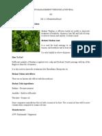 Health Management Through Ayurveda
