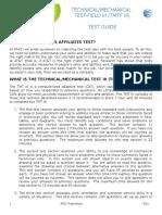 Tmtf III Test Guide
