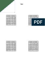 Planetary Squares