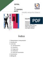 Diapositivas Esferas de Movimiento Antropomería Proxemia Imagenes Encimadas