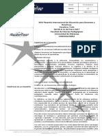 Programa XXVI Pasantía de Educación Docentes y Directivos