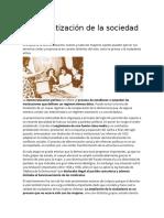 Democratización de La Sociedad Chilena