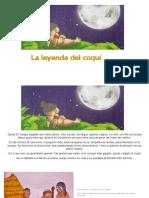 Leyenda Del Coqui Texto
