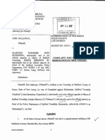 Galloway civil lawsuit