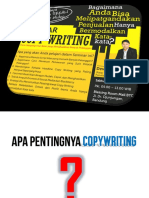 Ilmu Copywriting Coach DEWA