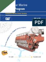 Caterpillar Marine Engine Program 2006