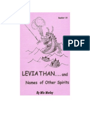 Leviathan and Names of Other Spirits_Win Worley | Book Of Job | Demons