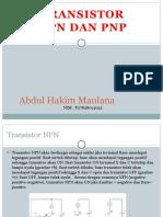 NPN PNP