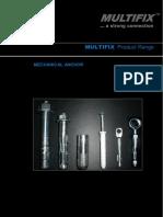 Multifix All Mechanical Anchor - Design Guide