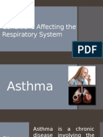 Conditions Affecting the Respiratory System