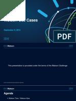 Watson Use Cases-V3