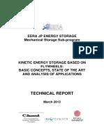 Kinetic Energ Storage Based on Flywheels EERA Report 2013