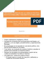 2016 Enfoques teóricos de la Ciencia Política (Inst y Neo) (1).pptx