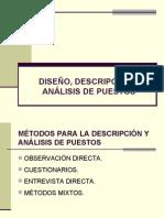 Diseño, Descripción y Análisis de Puestos