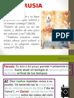 Cristologia - Parusia...Escuela