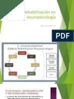 Rehabilitación en Neuropsicología