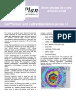 CelPlanner and CelPerformance Series 12 Brochure