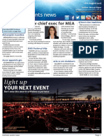 Business Events News for Thu 18 Aug 2016 - New MEA ceo, DMS, Pan Pacific Perth, Movenpick Incentive, Hong Kong MICE arrivals, Singapore Tourism Board, CINZ and much more