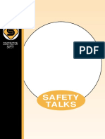 Construction Safety Talks Hb