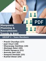 HRM Group 3 Batch a Manpower Planning