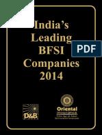 Indias Leading BFSI Companies 2014