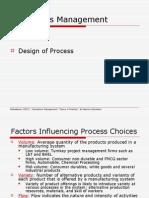 Design of Process
