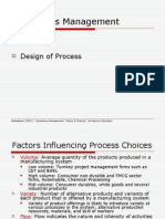Design of Process