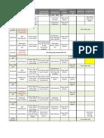 NSC Internal Calendar