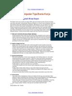 Kumpulan Tips Dunia Kerja