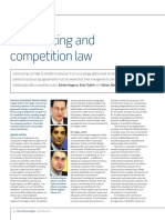 Outsourcing and Competition Law